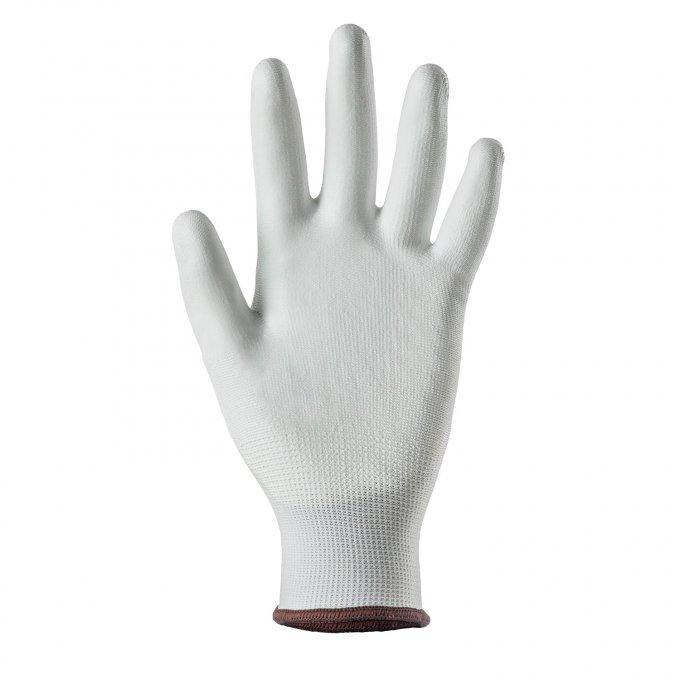 EUROLITE 13P100 biele rukavice  1PUBW