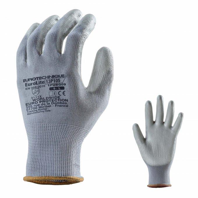 EUROLITE 13P105 rukavice čierne  1PUBG
