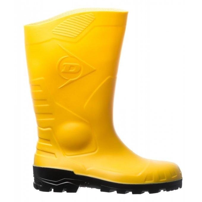 DUNLOP DEVON (S5 SRA) žlté čižmy  9DESY37-47