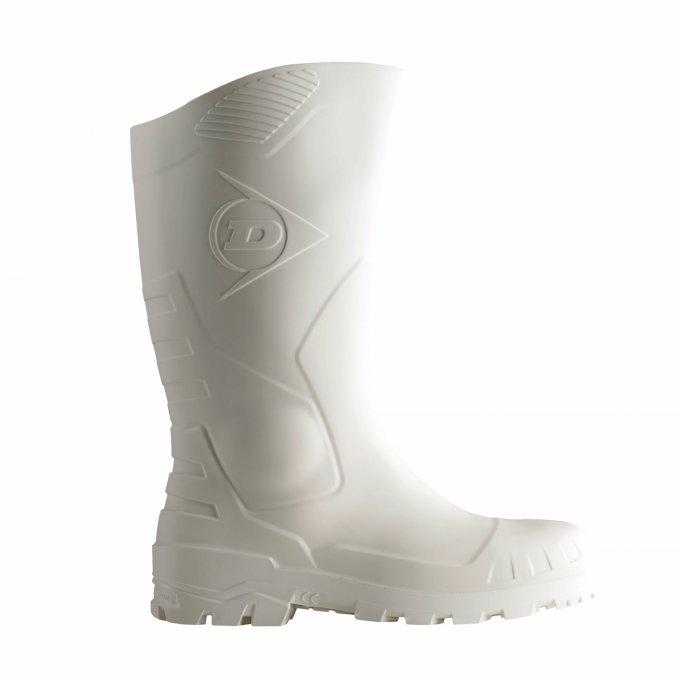 DUNLOP DEVON (S5 SRA) biele čižmy  9DEVO40036-47