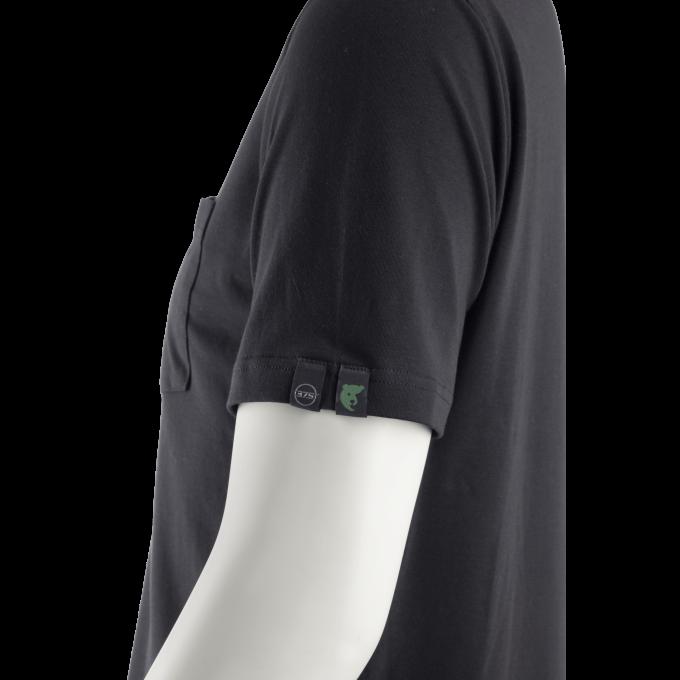 JAGA čierne EKO tričko  5JAG010