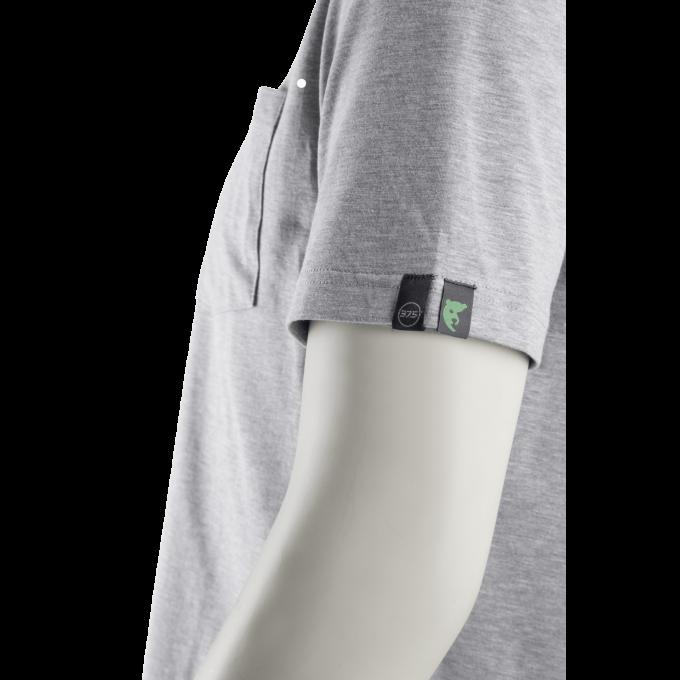 JAGA sivé EKO tričko  5JAG35