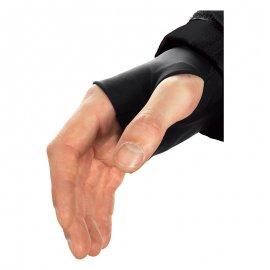 NORSK čierna bunda  5NORS vnútorná manžeta na rukáve s otvorom na palec