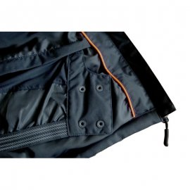 NORSK čierna bunda  5NORS