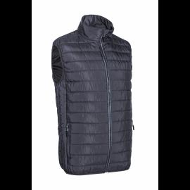 KABA prešívaná vesta sivá  5KAA050