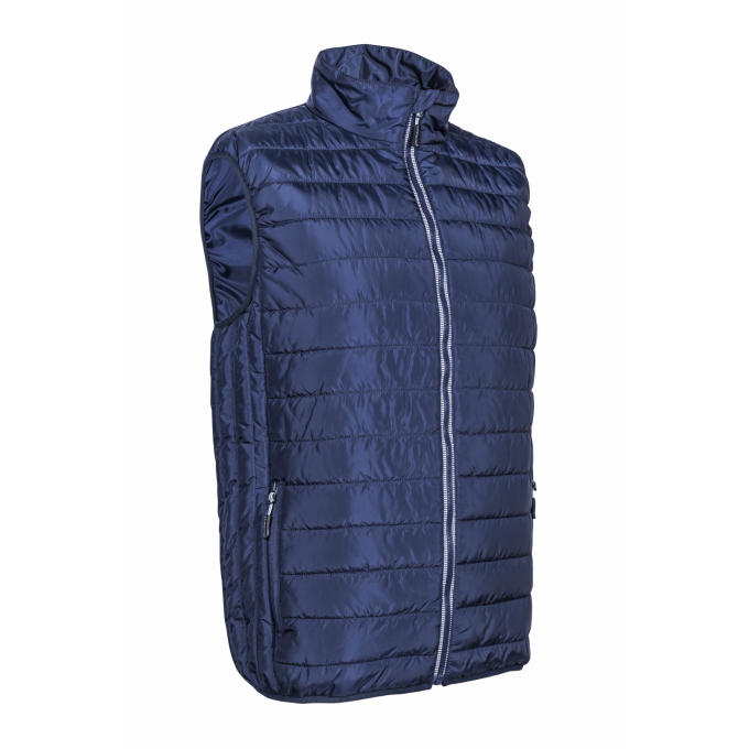 KABA prešívaná vesta modrá  5KAA12