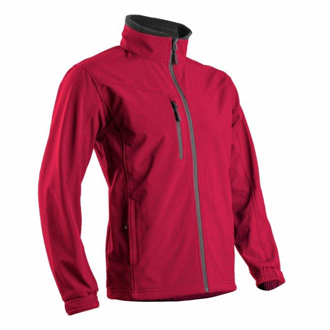 YANG II softshell bunda červená  5YANS30