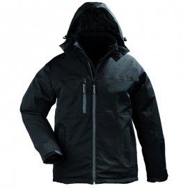 YANG WINTER čierný softshell kabát  5YAWB