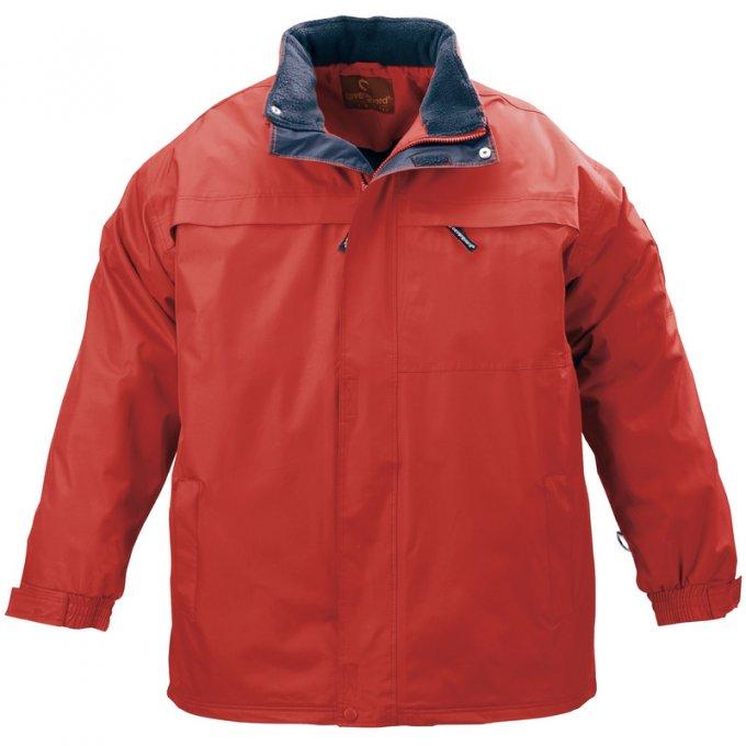 POLE NORD červený kabát  5NORP