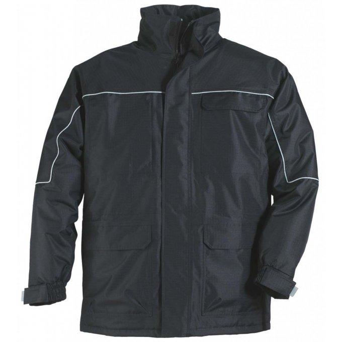 RIPSTOP kabát čierný  5RIPN
