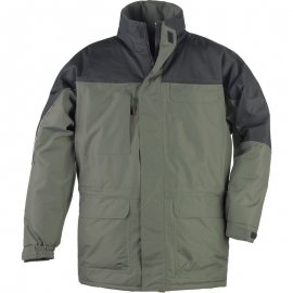 RIPSTOP kabát zeleno/čierný  5RIPG