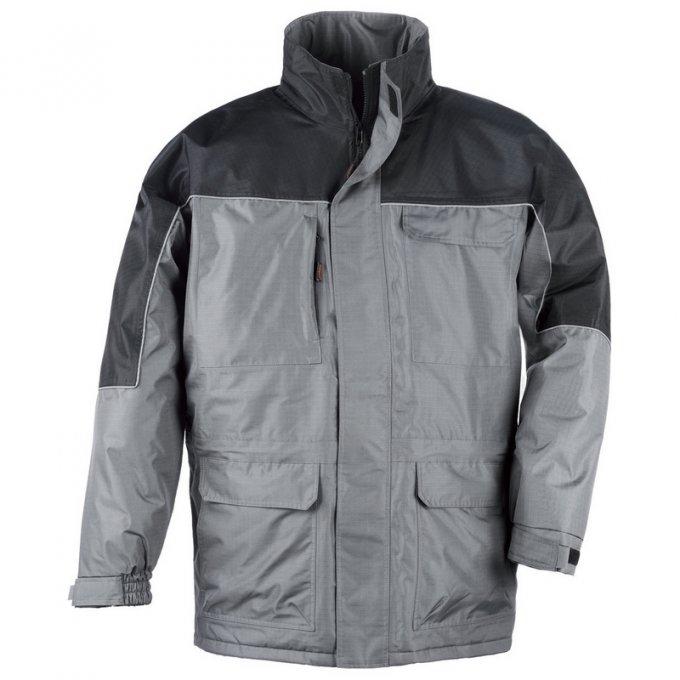 RIPSTOP kabát sivo/čierný  5RIPS