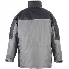 RIPSTOP kabát sivo/čierný  5RIPS zadná časť
