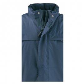 KABAN modrý kabát  5KABB golier