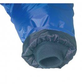 IRELAND modrý kabát  5IREL rukáv úplet