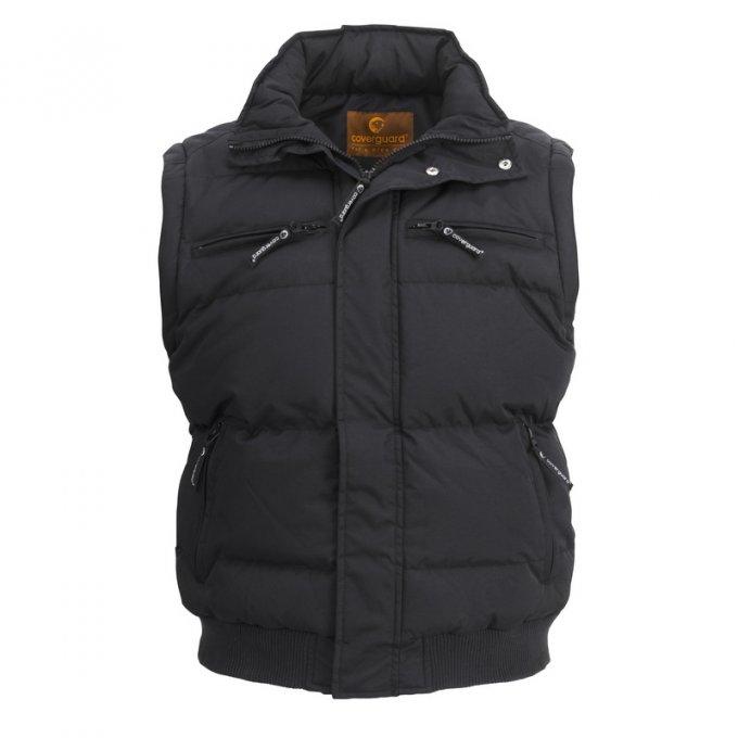 TOUN čierna bunda 2v1  5TOUB