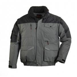RIPSTOP bunda sivo/čierná 2v1  5BMRI
