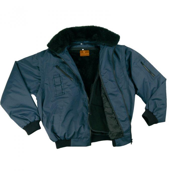 ZEFLY modrá bunda 3v1  5ZEFB