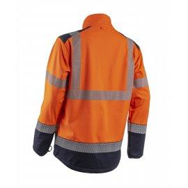 KAZAN 2v1 softshell reflexná bunda  5KAS17