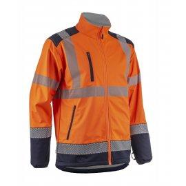 KAZAN softshell reflexná bunda  5KAS170