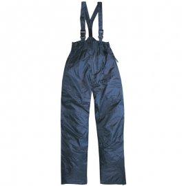 FINEK zateplené nohavice s trakmi modré  Y53199-204