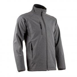 SOBA softshell bunda sivá  5SOB350