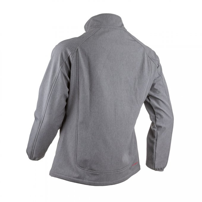 SHIKIMI dámska softshell bunda žíhaná sivá  5SHI350