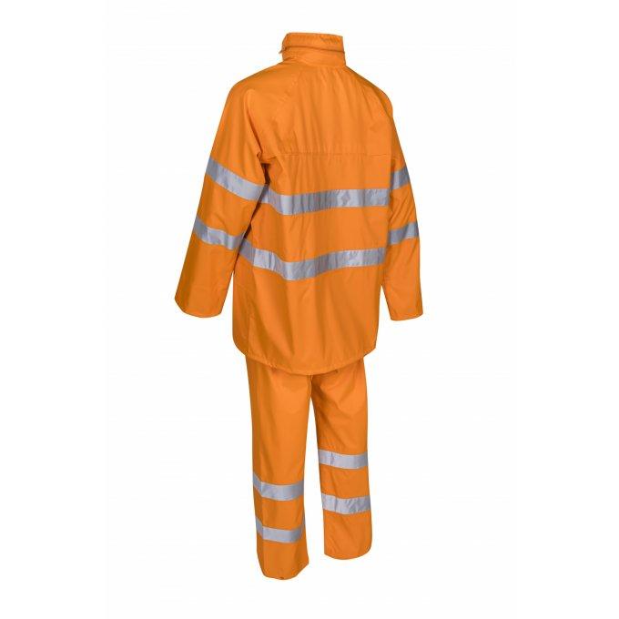 KAWA reflexná nepremokavá súprava oranžová  5KAW17
