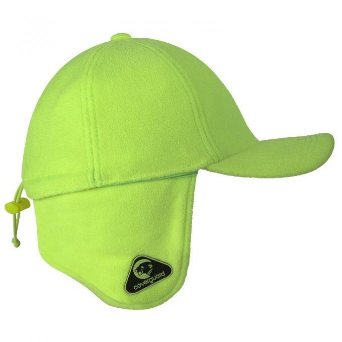 COVER CAP zimná baseball čiapka flou žltá  7COVCY