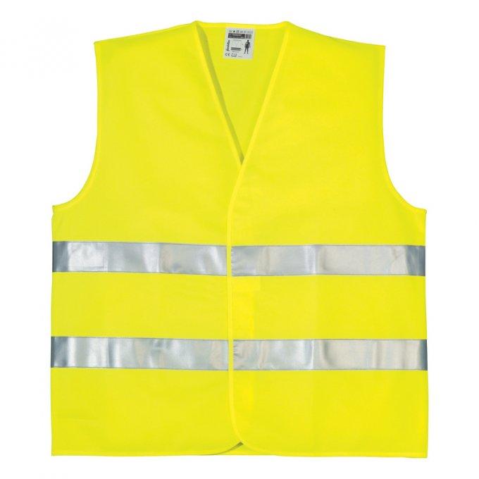 OXFORD reflexná vesta žltá  70200OXF