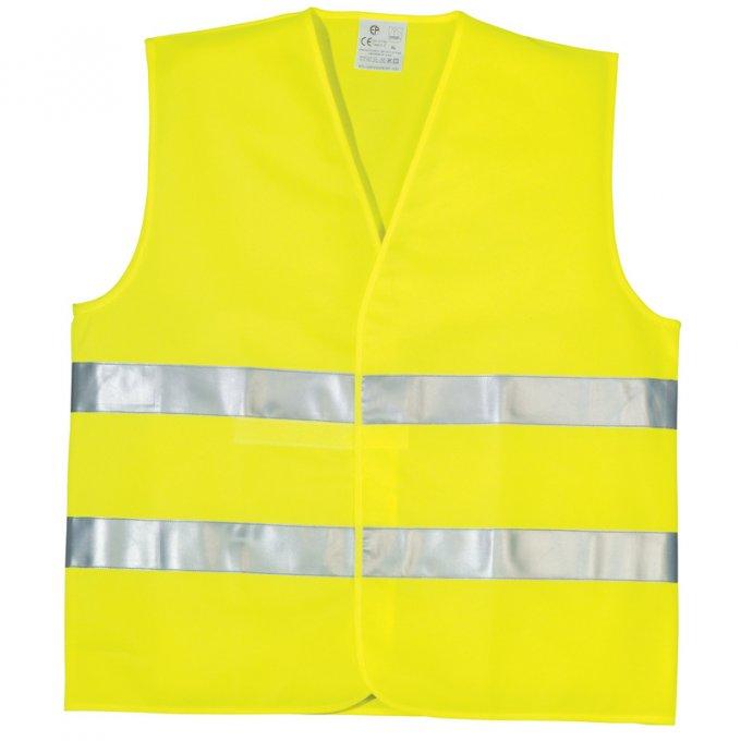Reflexná vesta žltá  70202-70213