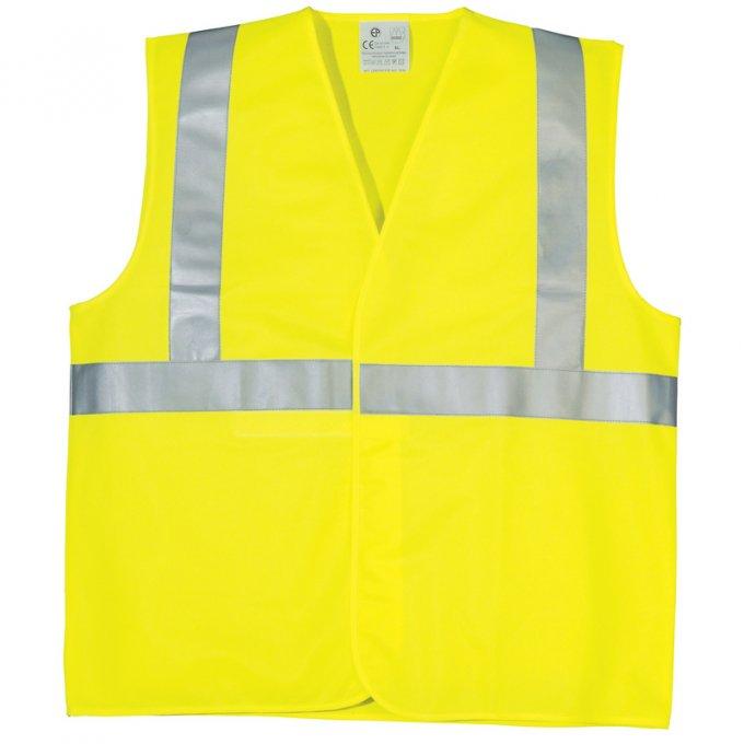 Reflexná vesta žltá  70206