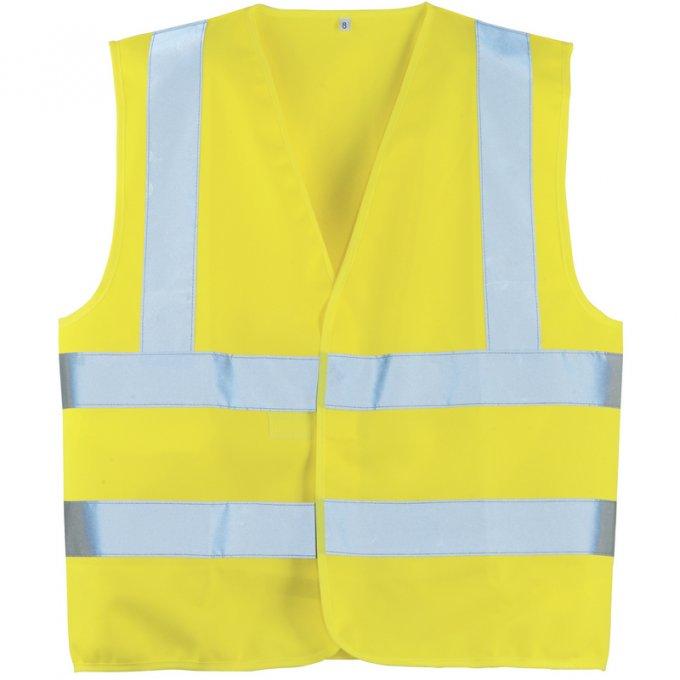 Reflexná vesta žltá  70242-243