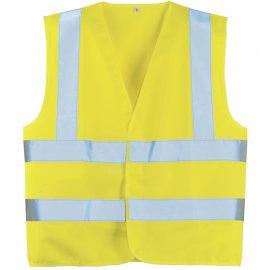 Reflexná vesta žltá  70242