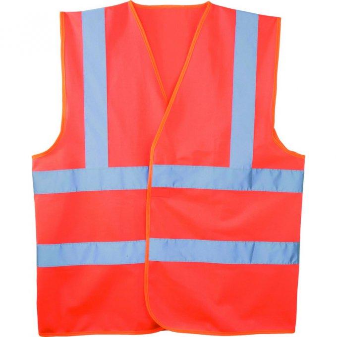 Reflexná vesta oranžová  70252