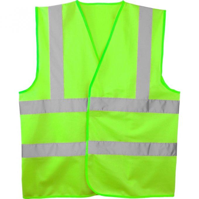 Reflexná vesta zelená  70262