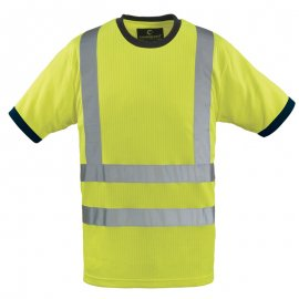 YARD reflexné tričko žlté  7YATY