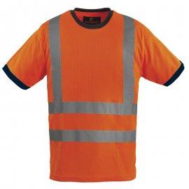 YARD reflexné tričko oranžové  7YATO