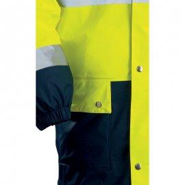 HARBOR reflexný nepremokavý plášť  70310-313 elastický lem