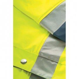 HARBOR reflexný nepremokavý plášť  70310-313 príklopka