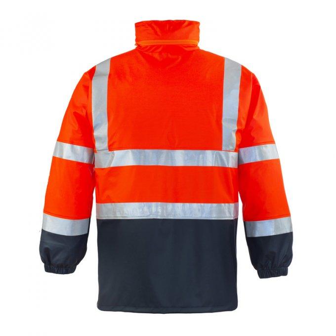 HARBOR reflexný nepremokavý plášť oranžový  70330-333