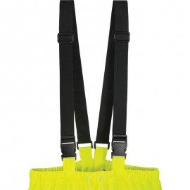 HARBOR reflexné nepremokavé nohavice žlté  70320-323 traky