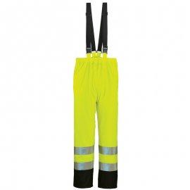 HARBOR reflexné nepremokavé nohavice žlté  70320-323