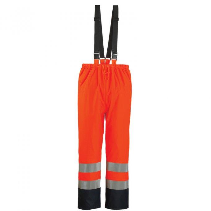 HARBOR feflexné nepremokavé nohavice oranžové  70340-343