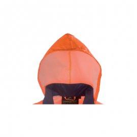 HI-WAY nepremokavá súprava oranžovo/modrá  7HWRO kapucňa