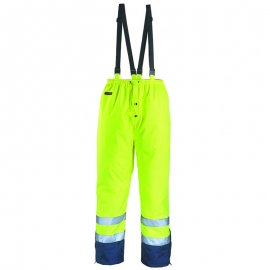 AIRPORT PU/PU nepremokavé nohavice žlto/modré  7AITY