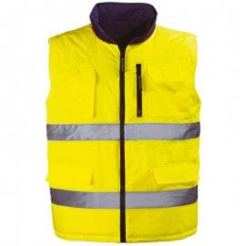 HI-WAY obojstrnná vesta žltá  7HWGY