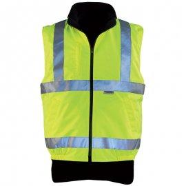 HI-WAY obojstranná vesta žltá  70500-504