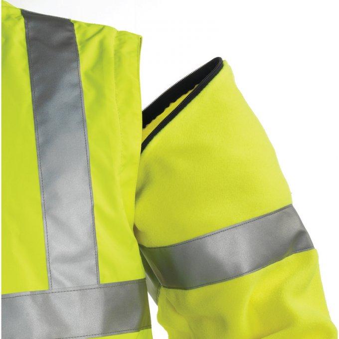 HI-WAY reflexná bunda 2v1 žltá  70520-523