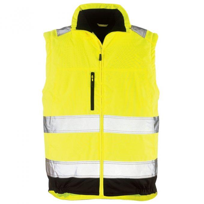 HI-WAY EXTRA reflexný kabát 2v1 žltý  7HWXY